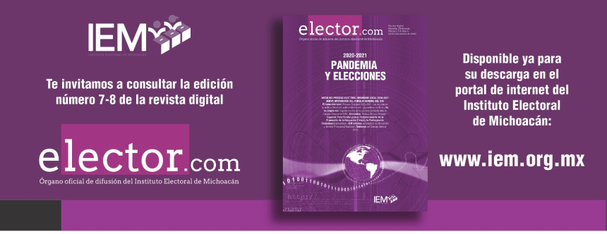 Revista Digital Elector Número 07-08